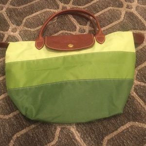 Handbags - Longchamp small green tote